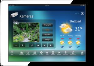 RTI Tablet Kameraüberwachung