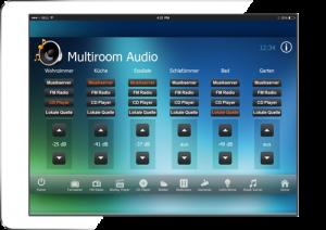 RTI Tablet Multiroom