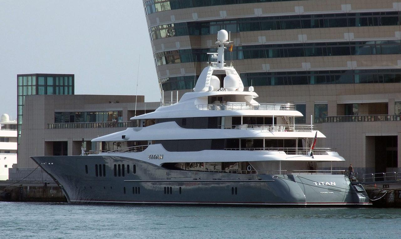 VIP & Yacht Service & Support Referenz Titan