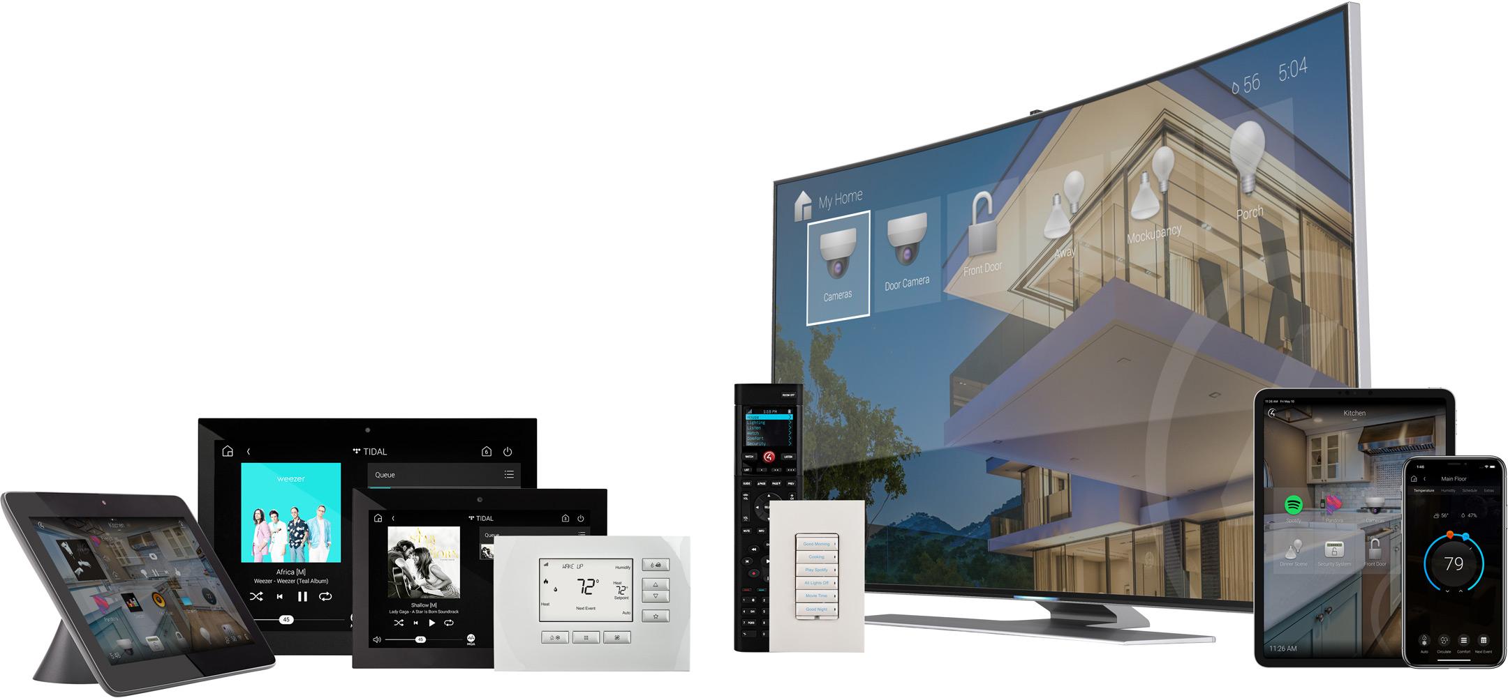 Control4 Steuerungslösungen (Bild 1)