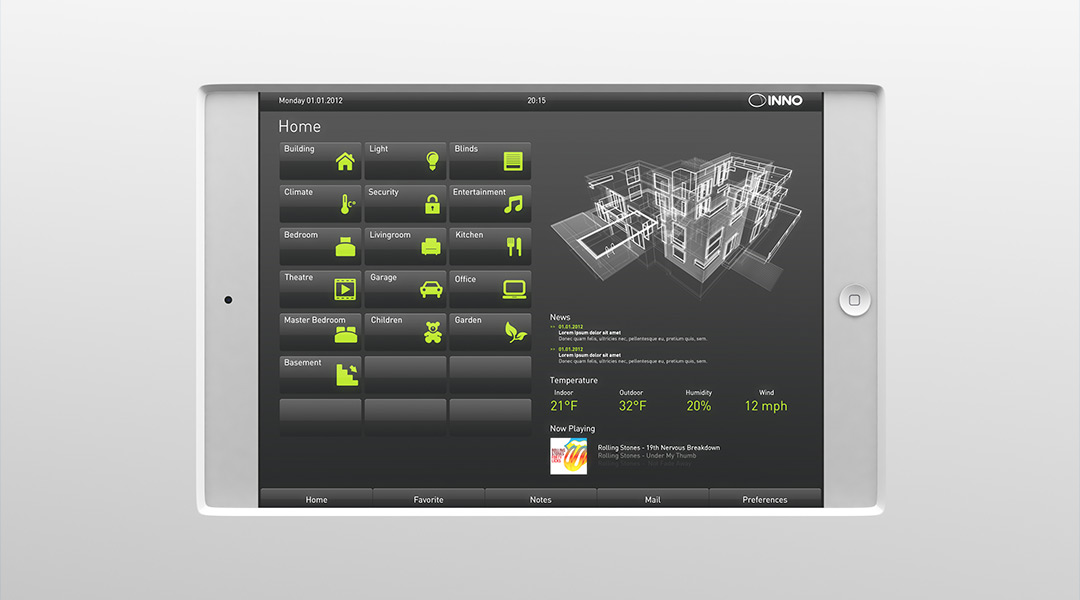 KNX Gebäudetechnik