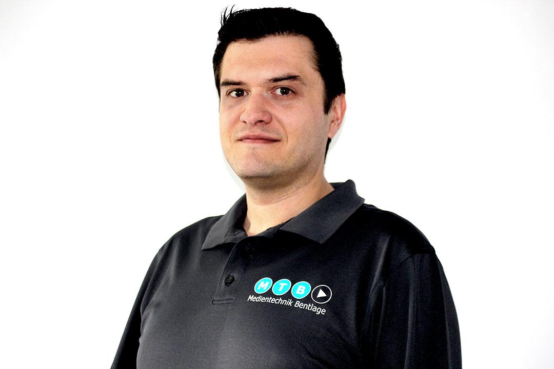 Radio- und Fernsehtechniker: Radoslaw Foitzik