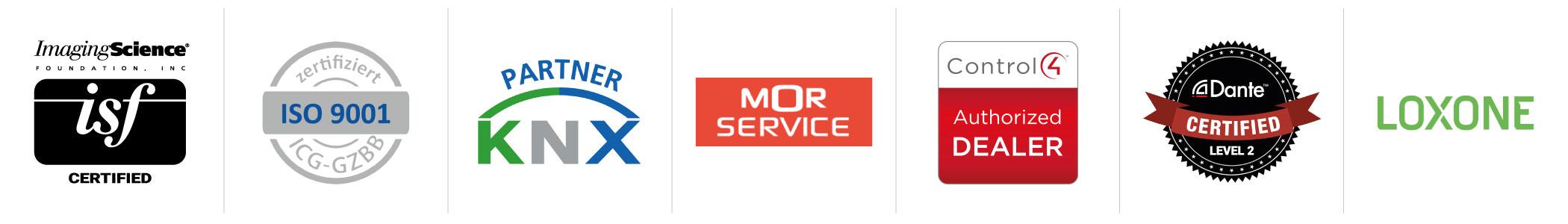 Unsere Zertifizierungen und Partner